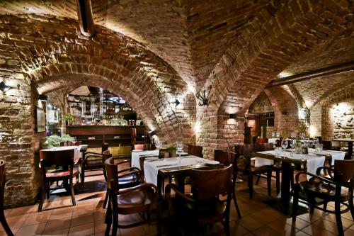 Restorano rūsio salė